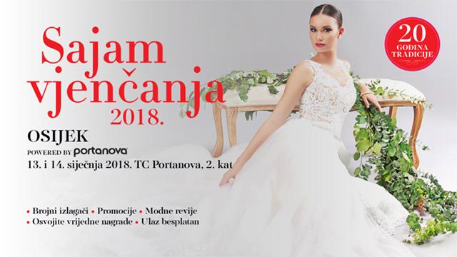 Posjetite Sajam vjenčanja u Osijeku 2018.
